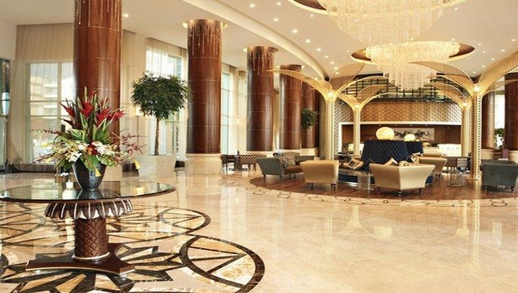 Stunning lobby of Khalidiya Palace Rayhaan Apartments - Citybase Apartments