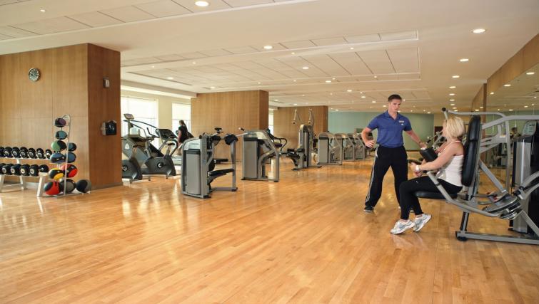 Gym at Khalidiya Palace Rayhaan Apartments - Citybase Apartments