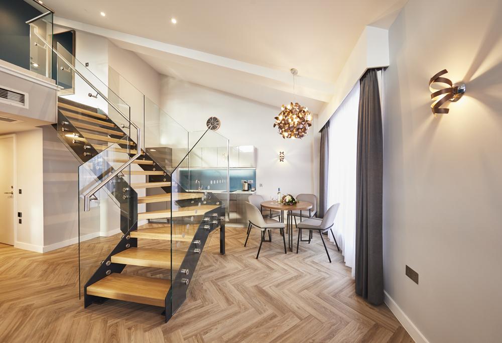 Lounge 2 at Roomzzz Aparthotel York, Centre, York - Citybase Apartments