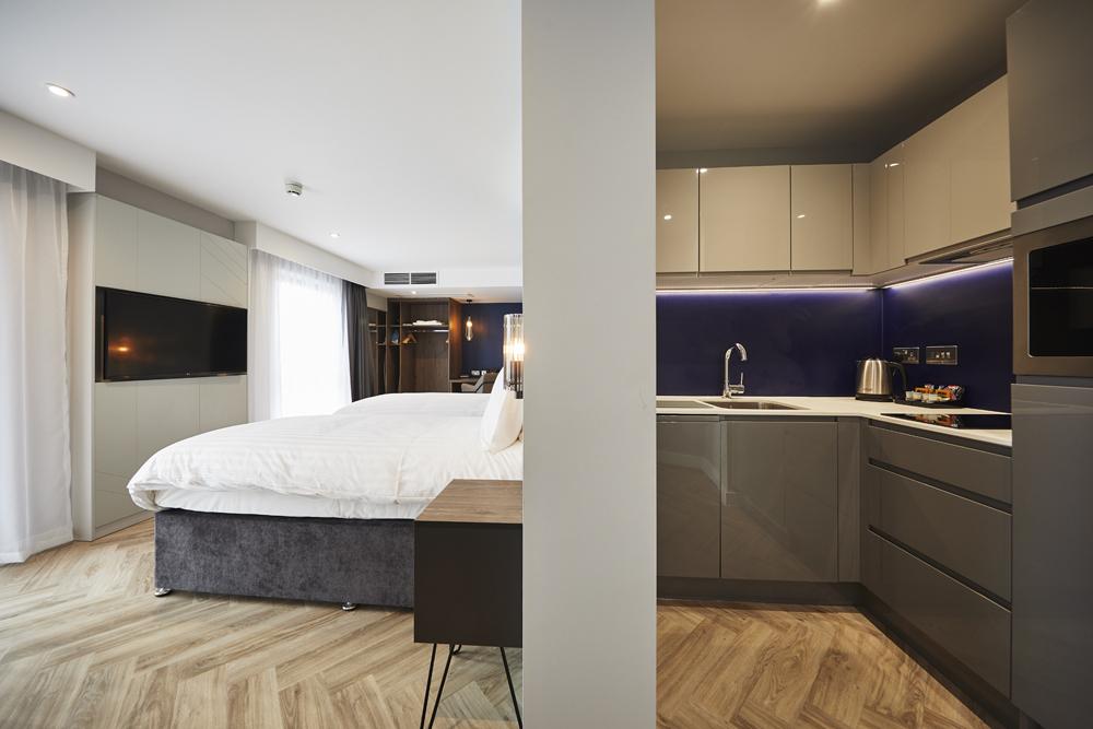 Layout at Roomzzz Aparthotel York, Centre, York - Citybase Apartments