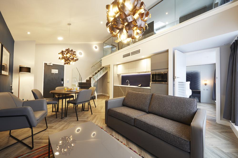 Loft at Roomzzz Aparthotel York, Centre, York - Citybase Apartments