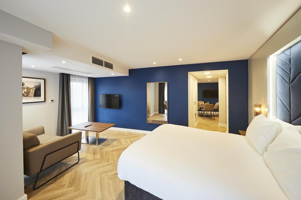 Cosy bedroom at Roomzzz Aparthotel York, Centre, York - Citybase Apartments