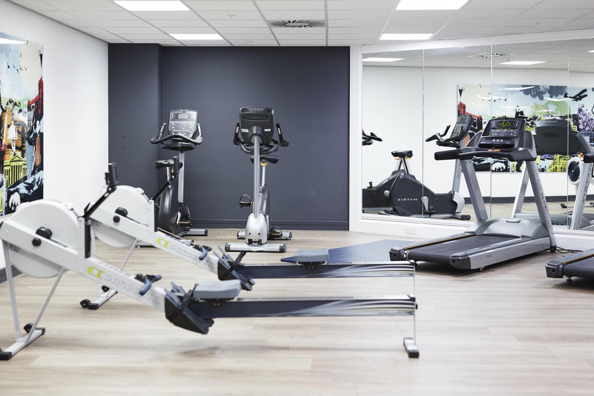 Gym at Roomzzz Aparthotel York, Centre, York - Citybase Apartments