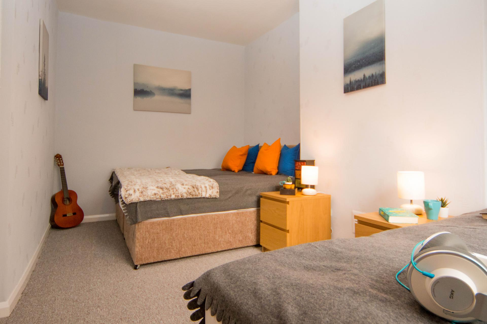 Beds at Limpenny House, Radford, Nottingham - Citybase Apartments