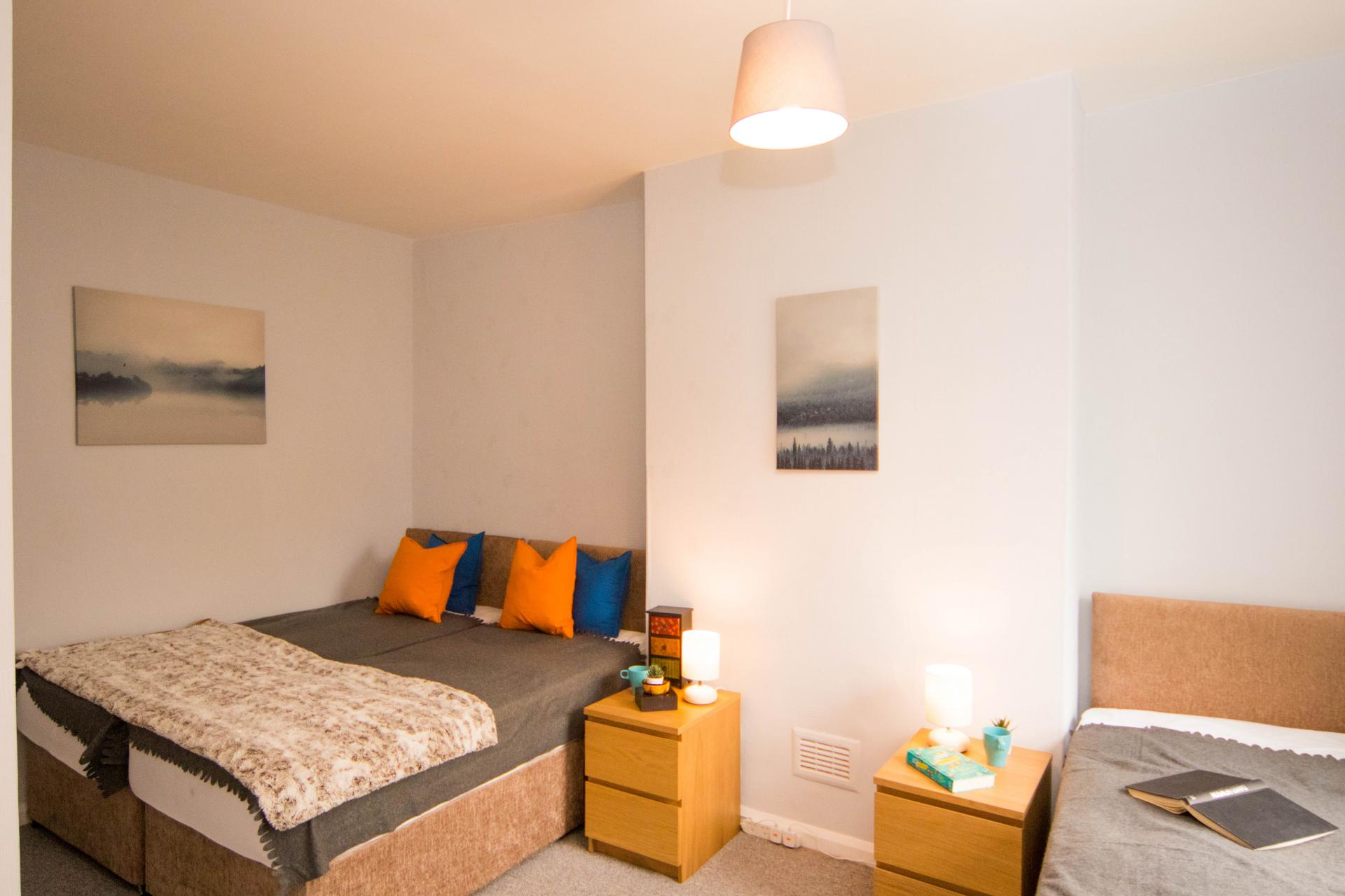 Bedroom at Limpenny House, Radford, Nottingham - Citybase Apartments