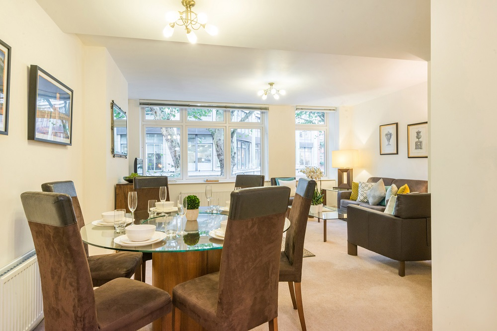 Overview of Alfred Place Apartments, Fitzrovia, London - Citybase Apartments