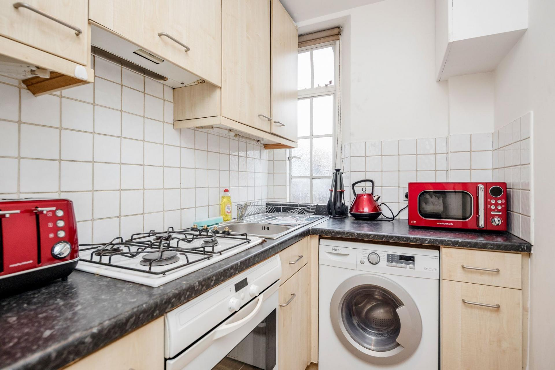 Kitchen at Marylebone Luxury Apartments, Marylebone, London - Citybase Apartments