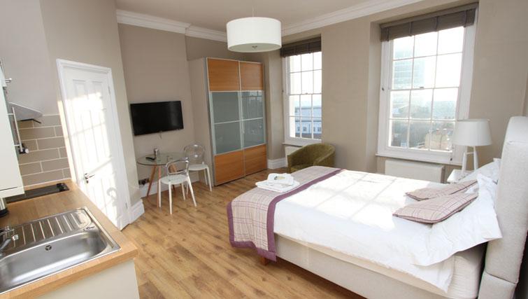 Studio at Lower Park Apartments, Brandon, Bristol - Citybase Apartments