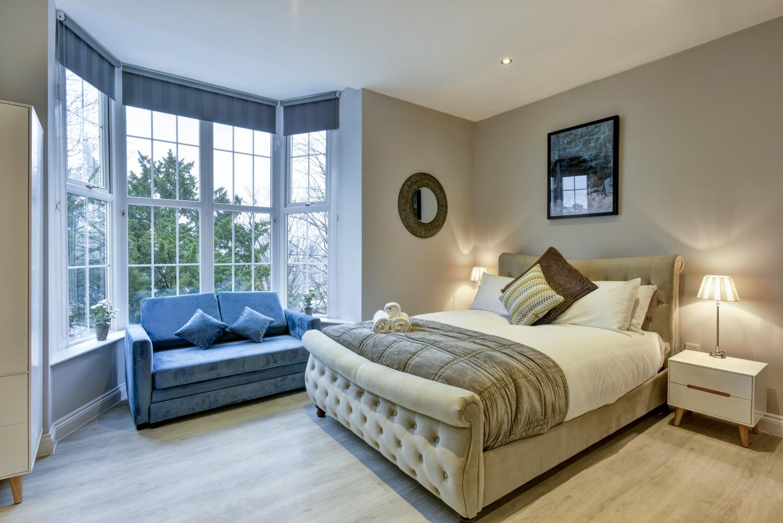 Bed at Meridian Suites, Brandon, Bristol - Citybase Apartments