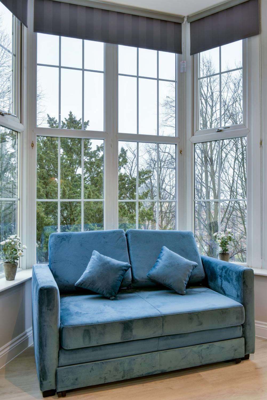 Sofa at Meridian Suites, Brandon, Bristol - Citybase Apartments