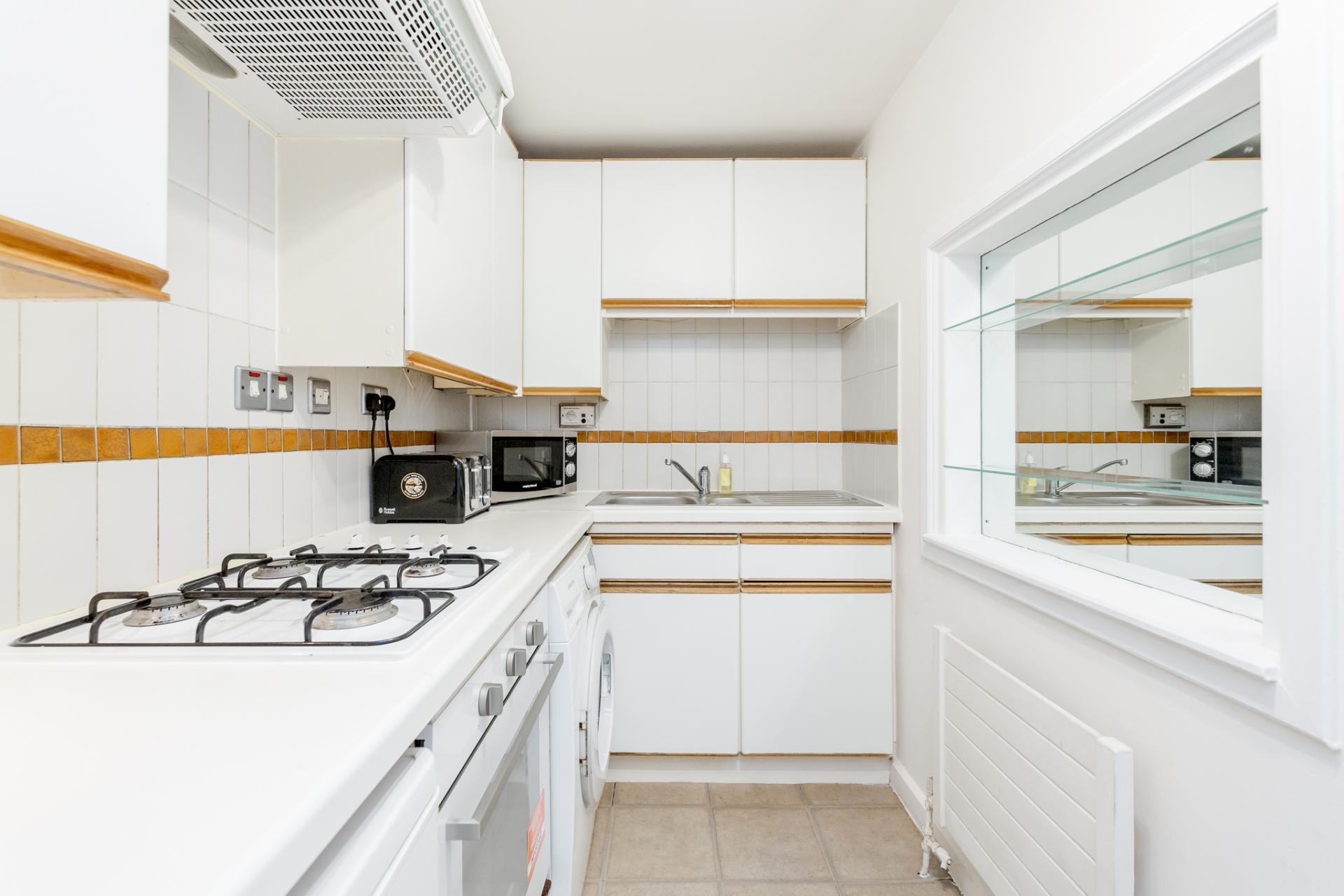 Kitchen at Earls Court Serviced Apartment, Kensington, London - Citybase Apartments