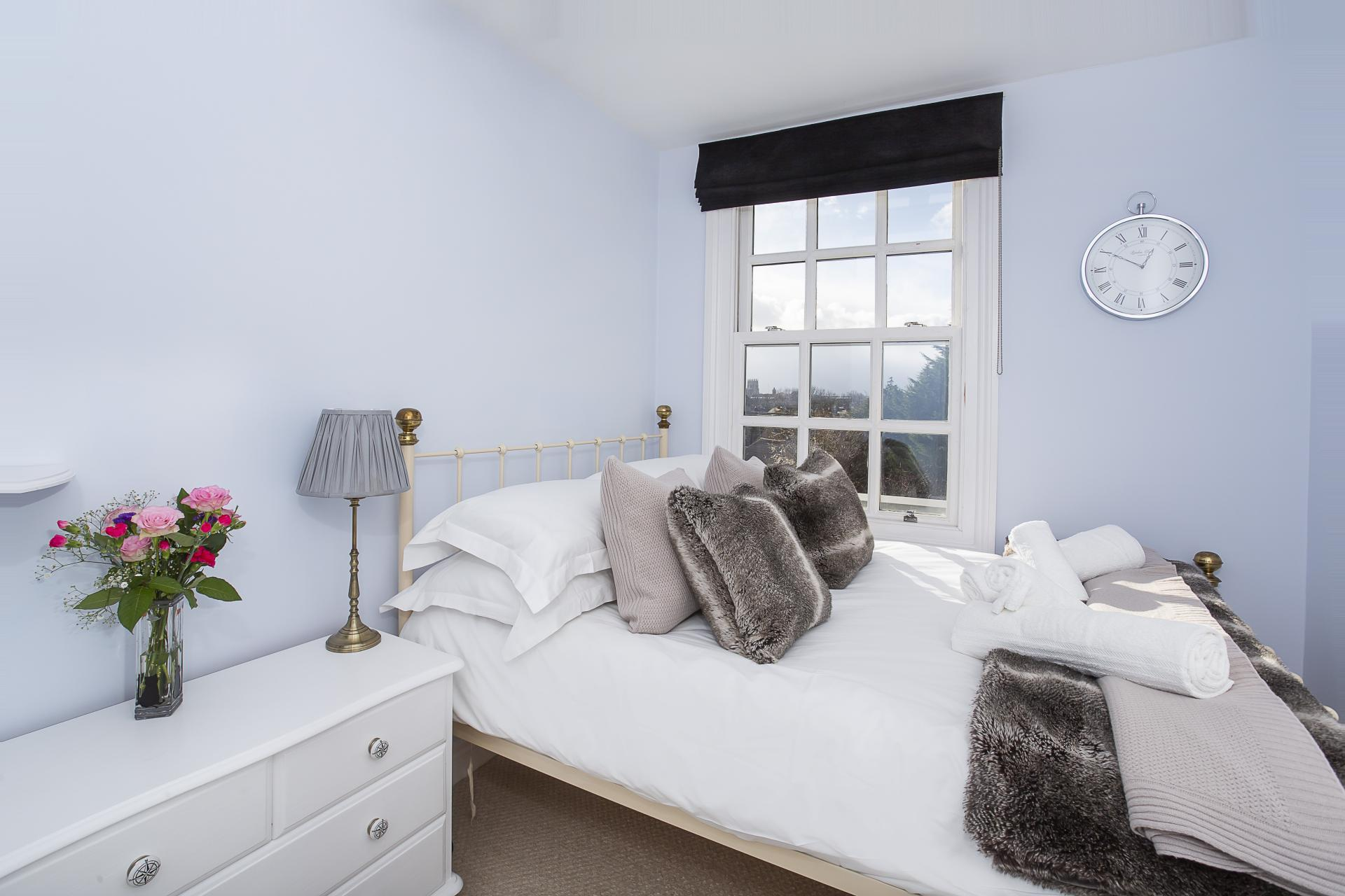Bedroom at The Nutshell Apartment, Heworth, York - Citybase Apartments