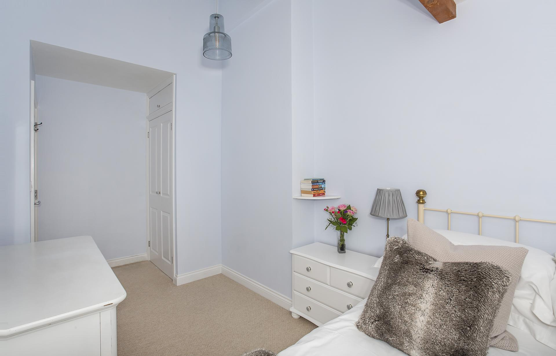 Bed at The Nutshell Apartment, Heworth, York - Citybase Apartments