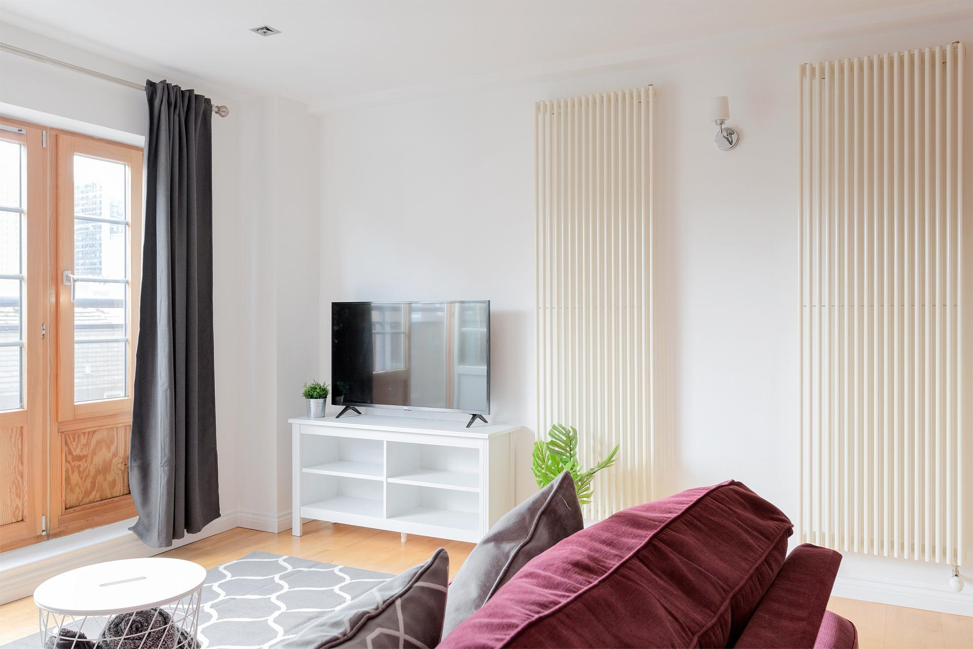 Lounge at Serenity Apartment, Whitechapel, London - Citybase Apartments