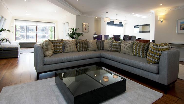 Sofa at Mayfair House Apartments - Citybase Apartments