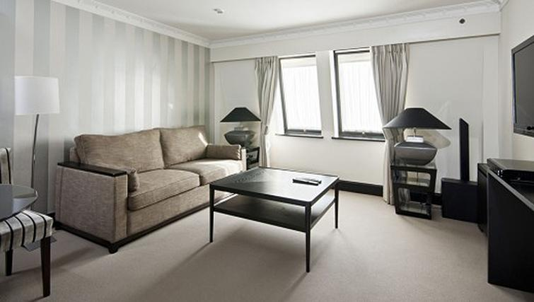 Living area in 1 bed at Mayfair House Apartments - Citybase Apartments