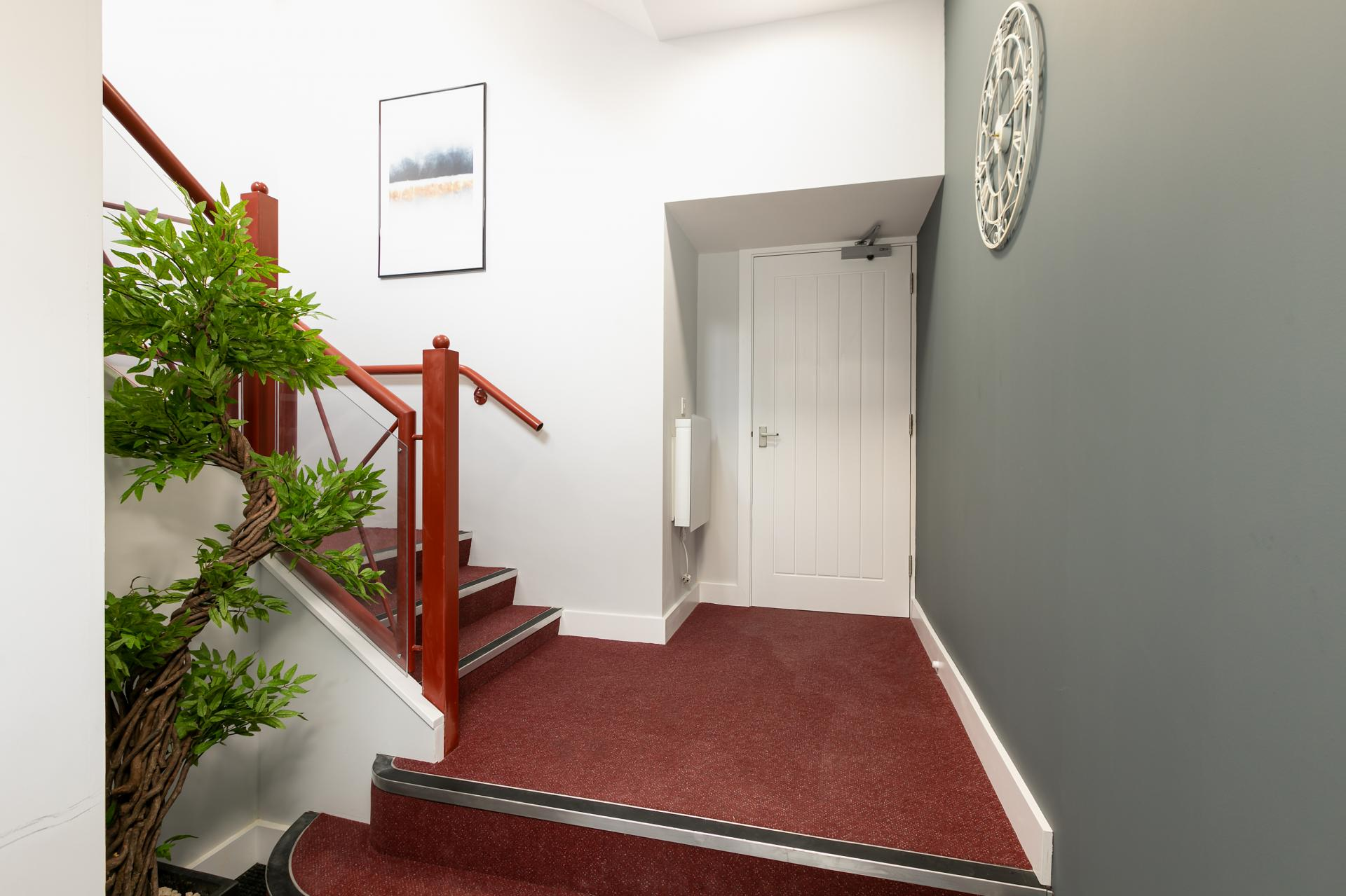 Hallway at Wesley Gate Apartments, Centre, Reading - Citybase Apartments