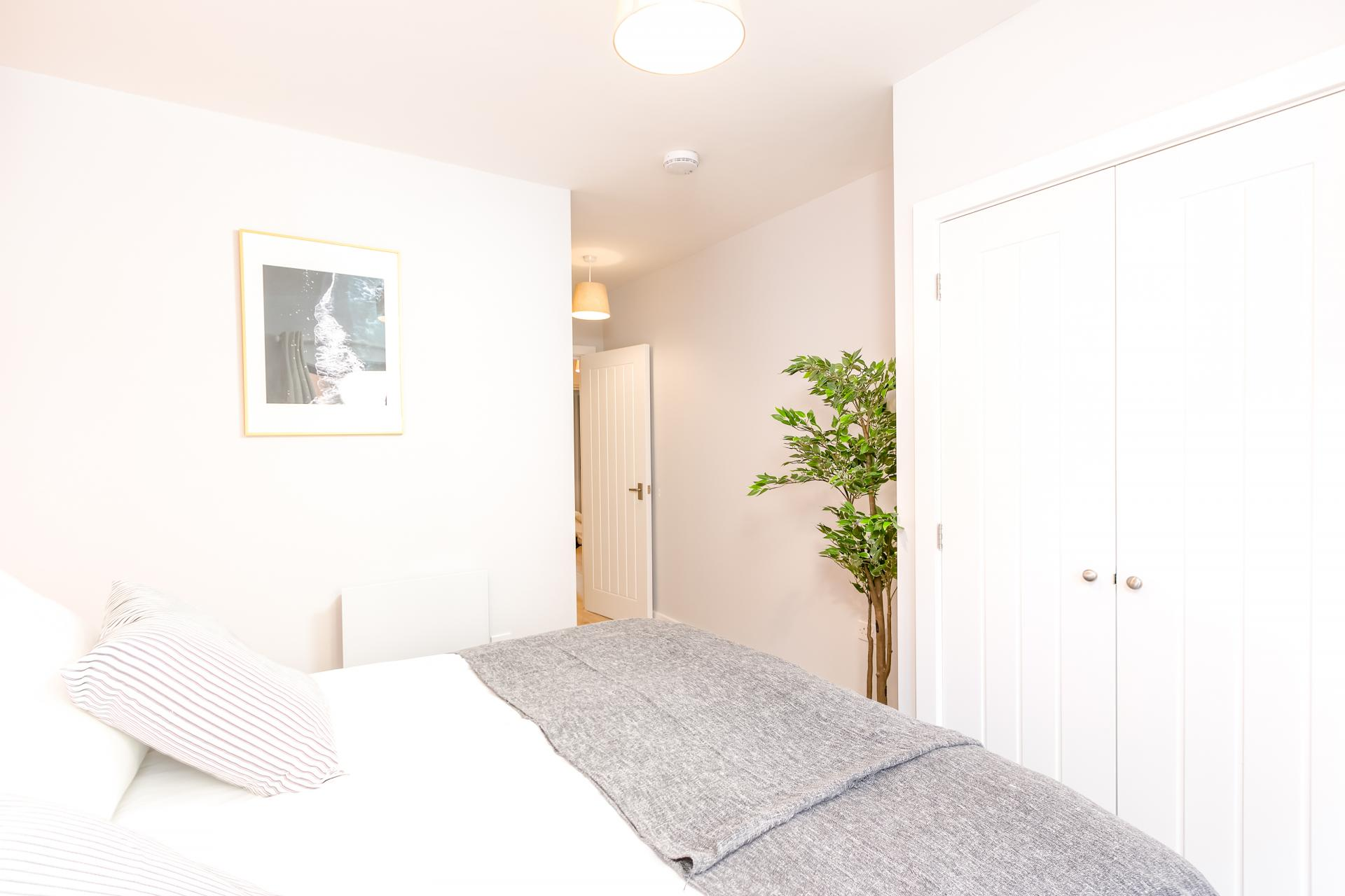 Bright bedroom at Wesley Gate Apartments, Centre, Reading - Citybase Apartments