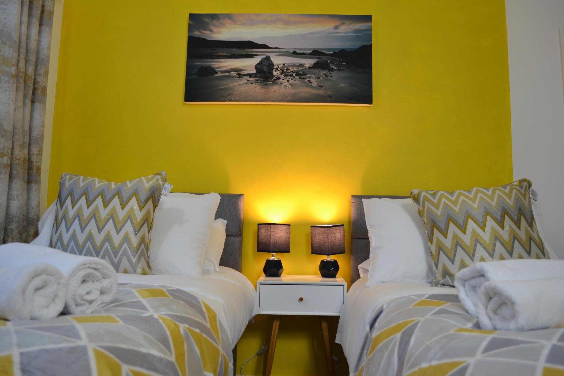 Bedroom at Kendal Way Home, Chesterton, Cambridge - Citybase Apartments