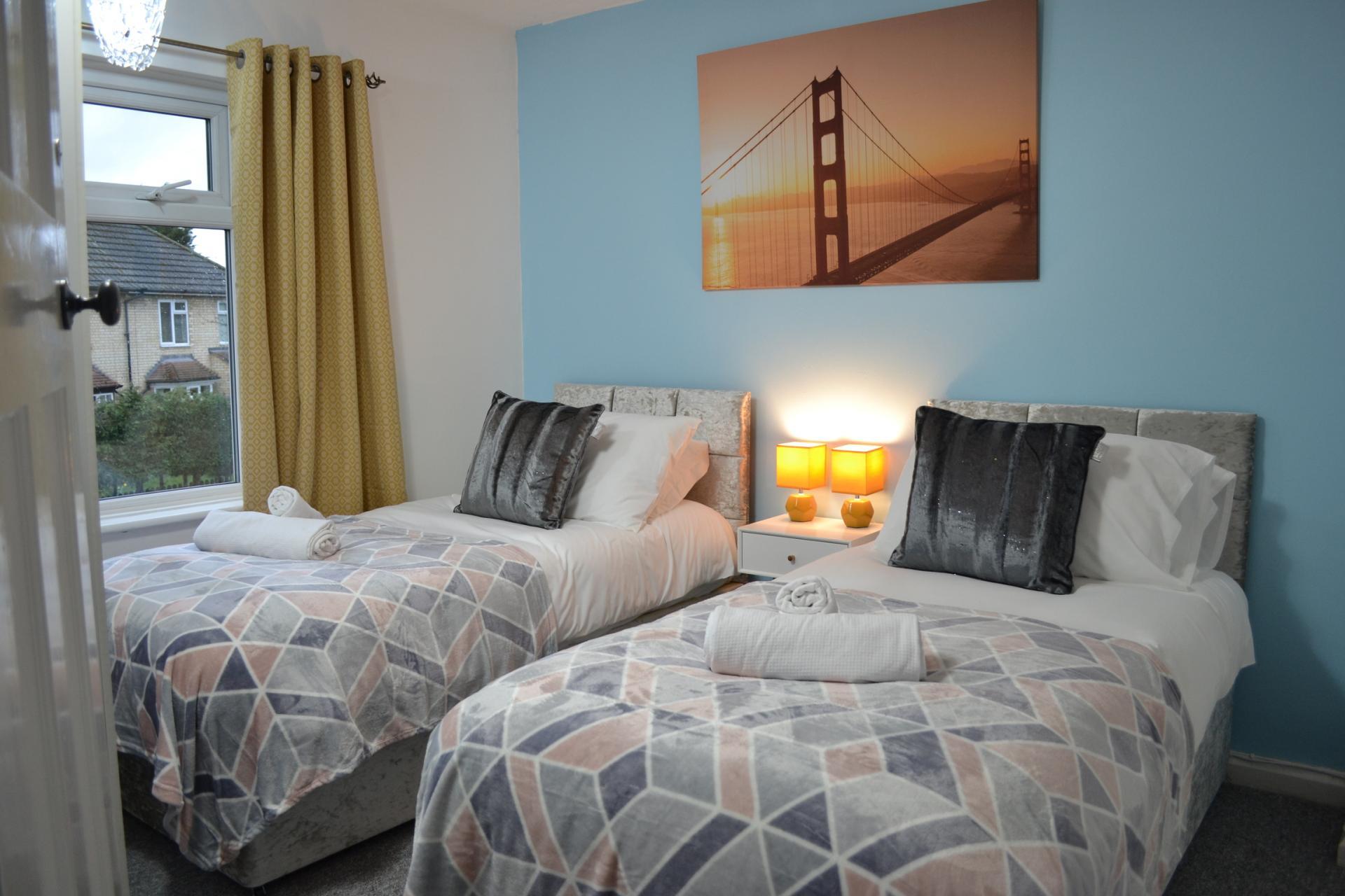 Beds at Kendal Way Home, Chesterton, Cambridge - Citybase Apartments