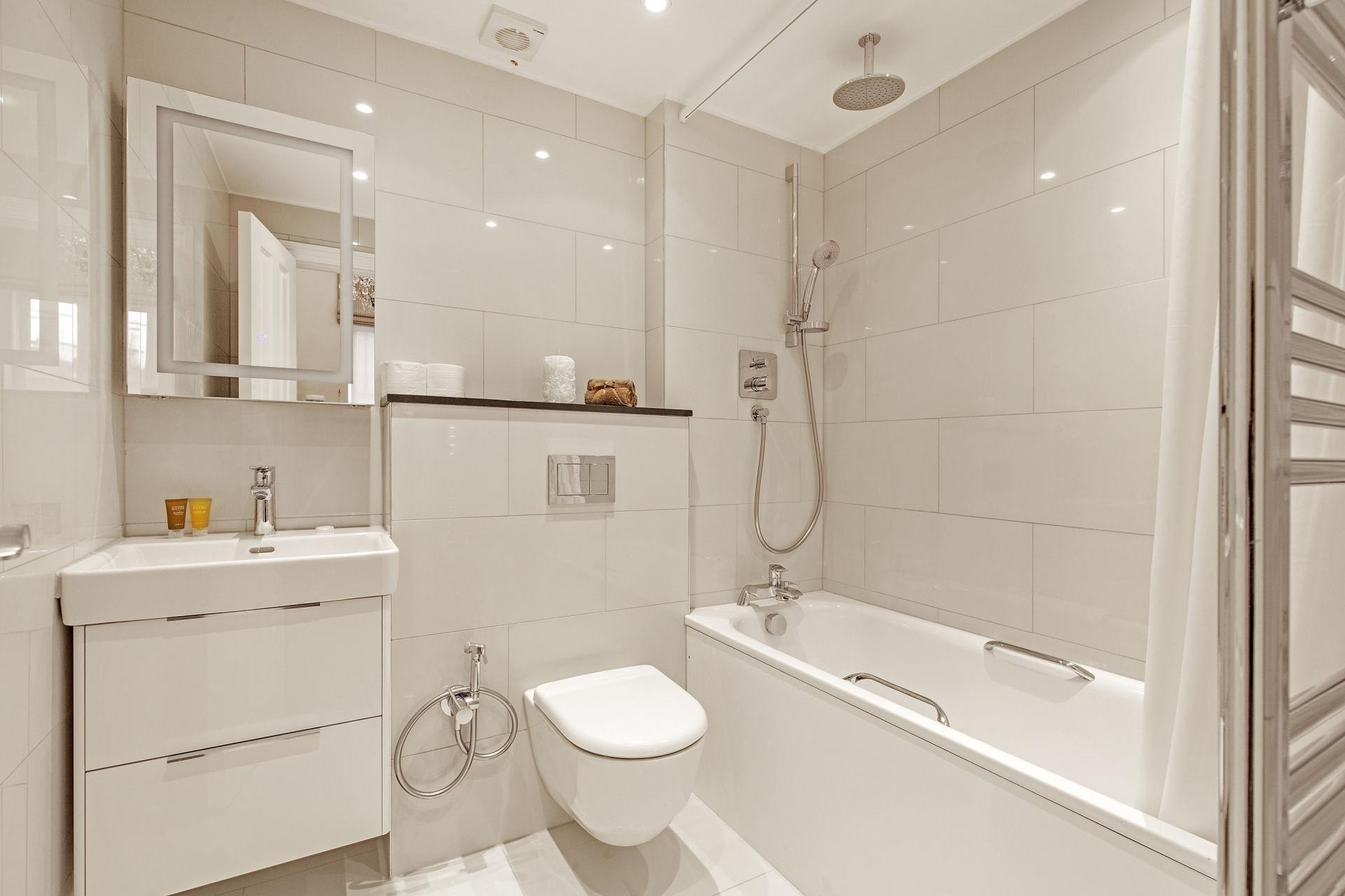 Bathroom at Chesham Court, Belgravia, London - Citybase Apartments