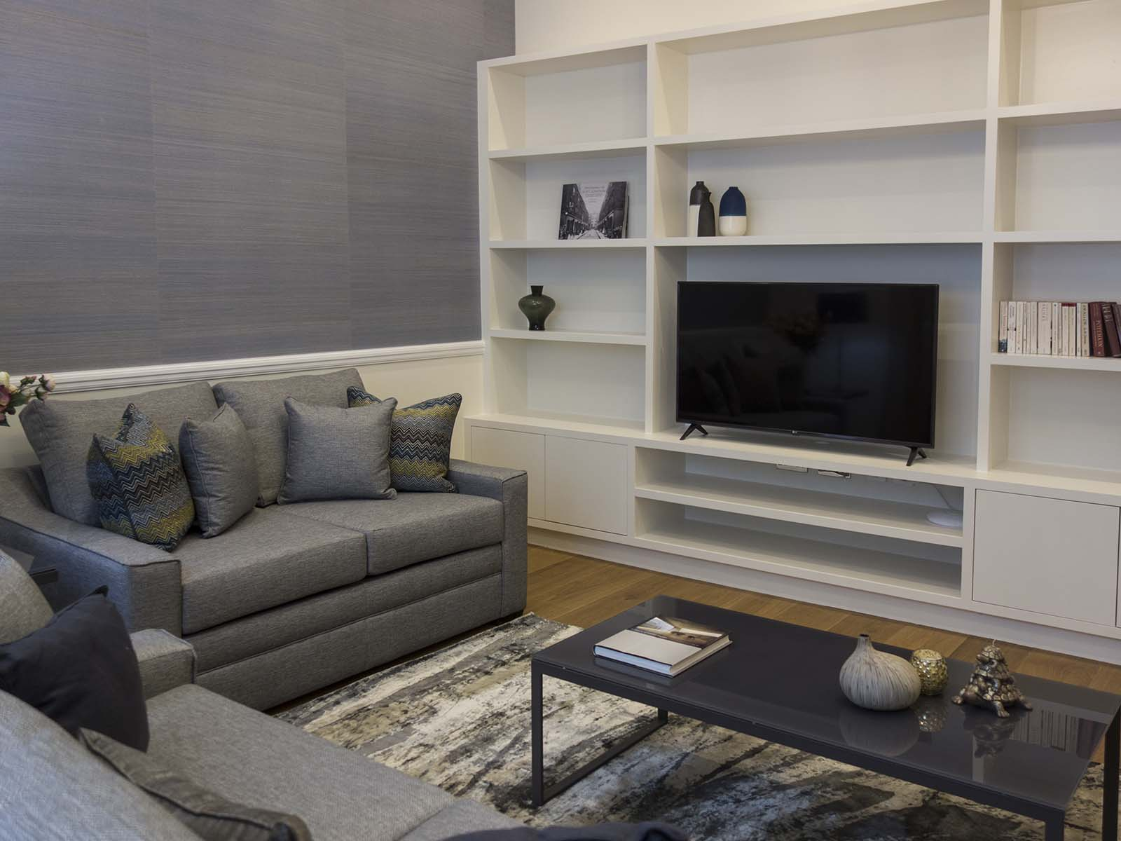 Living space at Chesham Court, Belgravia, London - Citybase Apartments