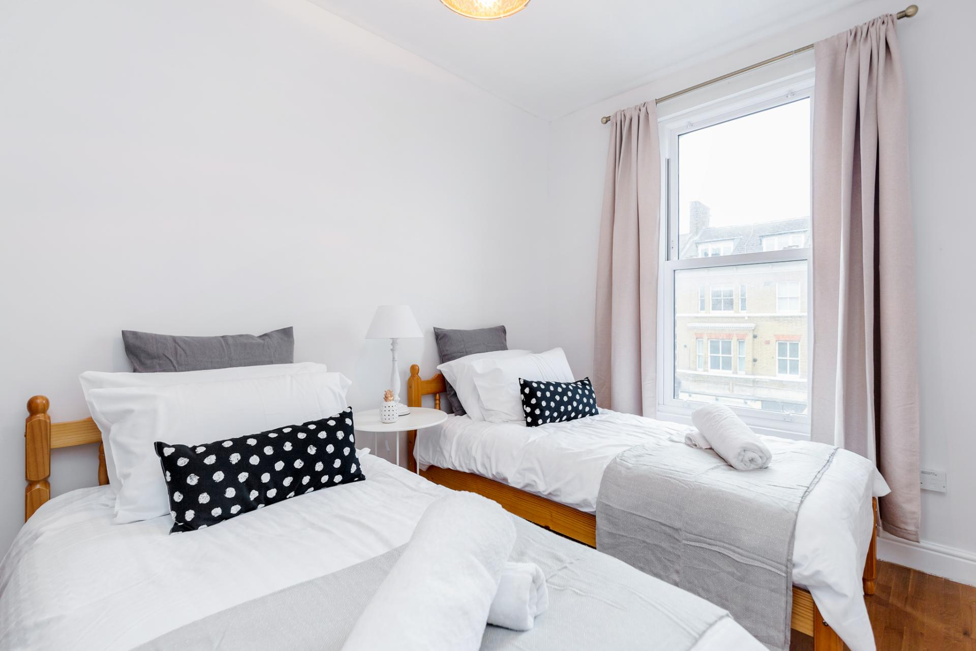 Beds at Lavender Hill Apartments, Clapham Junction, London - Citybase Apartments