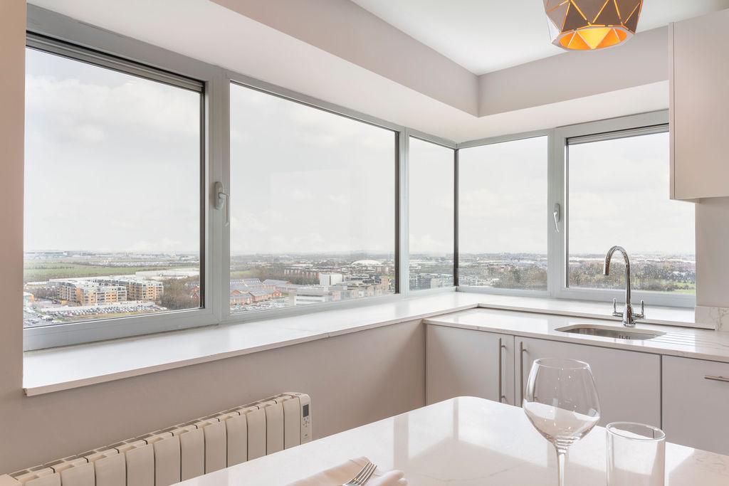 View from Metro Hotel Dublin Airport, Ballymun, Dublin - Citybase Apartments
