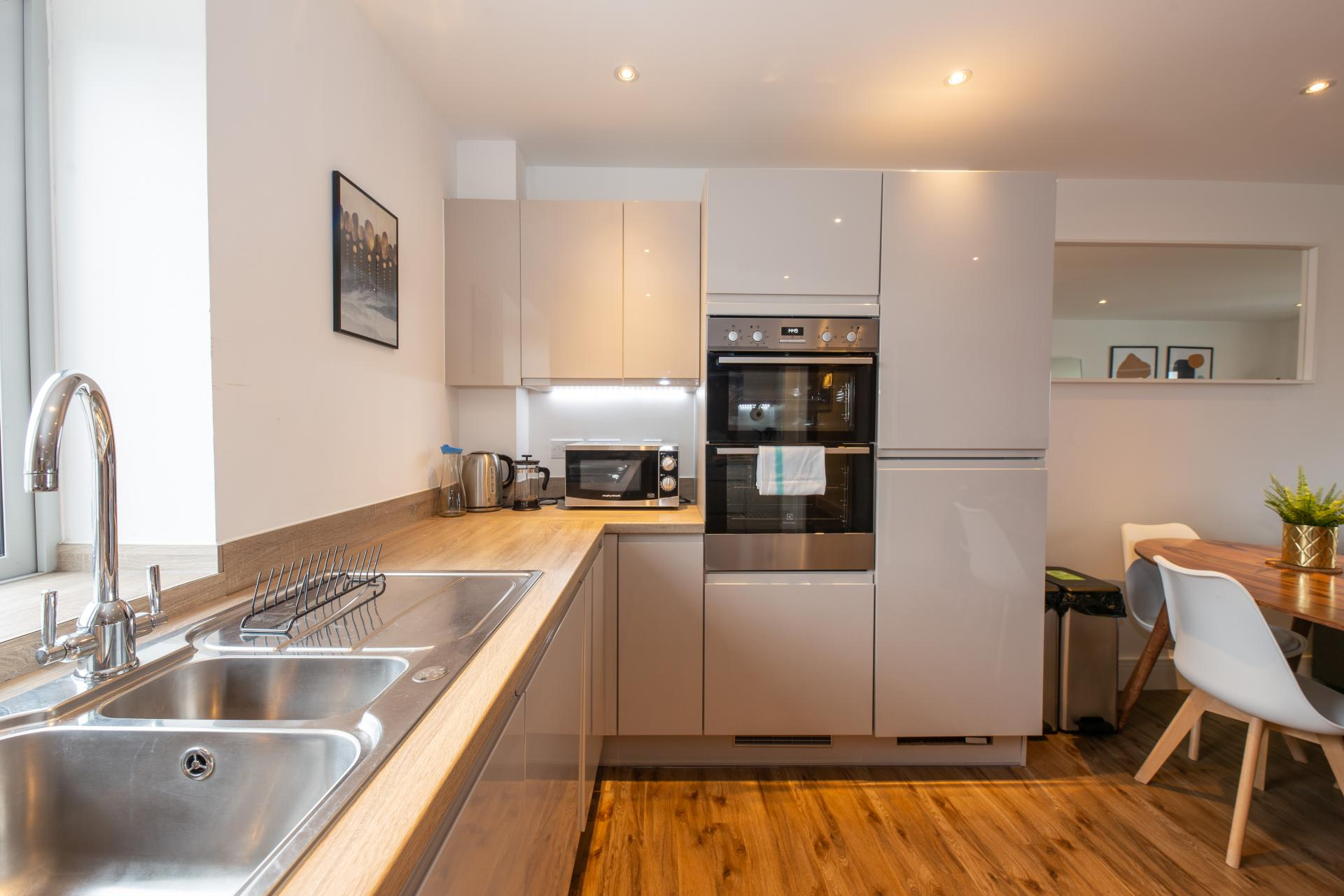 Kitchen at Austen House, Centre, Guildford - Citybase Apartments
