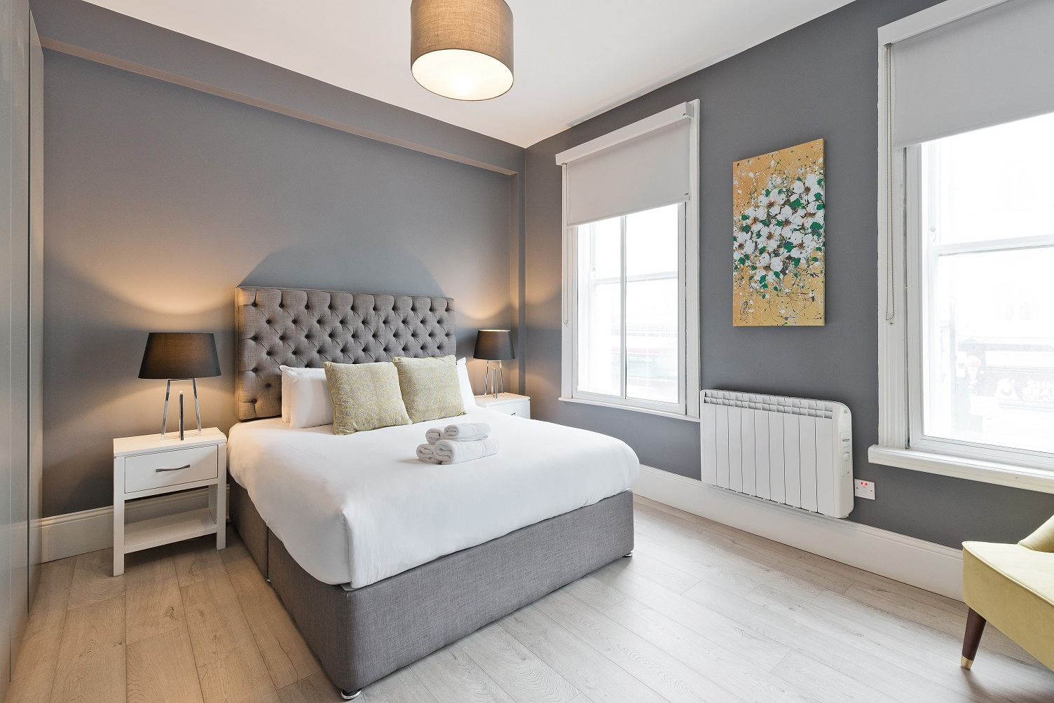 Bedroom at Dawson Street Apartments, Portobello, Dublin - Citybase Apartments