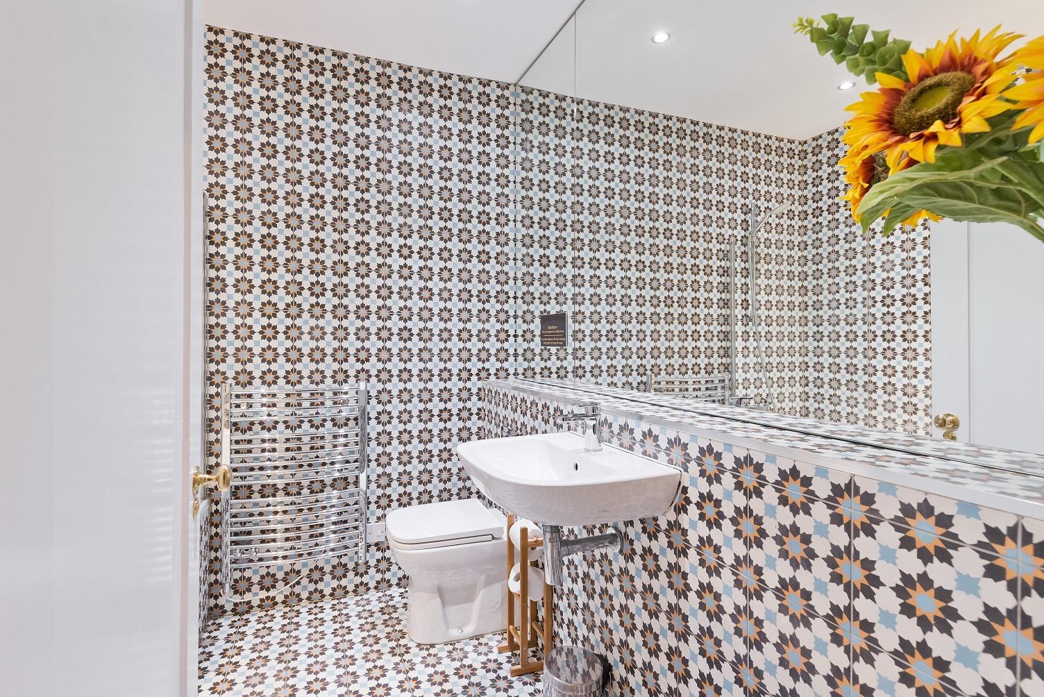 Bathroom at Dawson Street Apartments, Portobello, Dublin - Citybase Apartments
