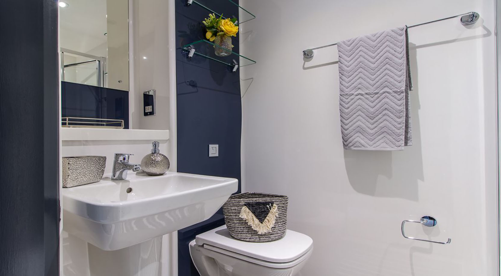 Bathroom at The Residence Coventry, Centre, Newmarket - Citybase Apartments