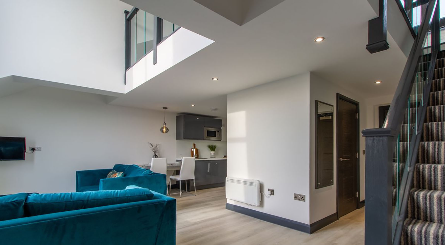 Open-plan at The Residence Coventry, Centre, Newmarket - Citybase Apartments