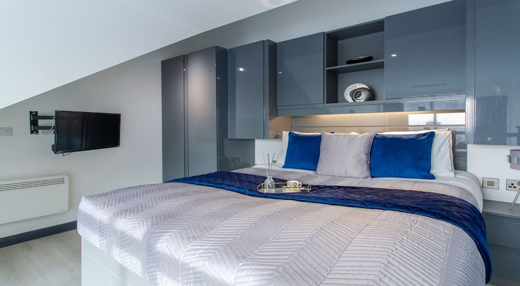 Bedding atThe Residence Coventry, Centre, Newmarket - Citybase Apartments