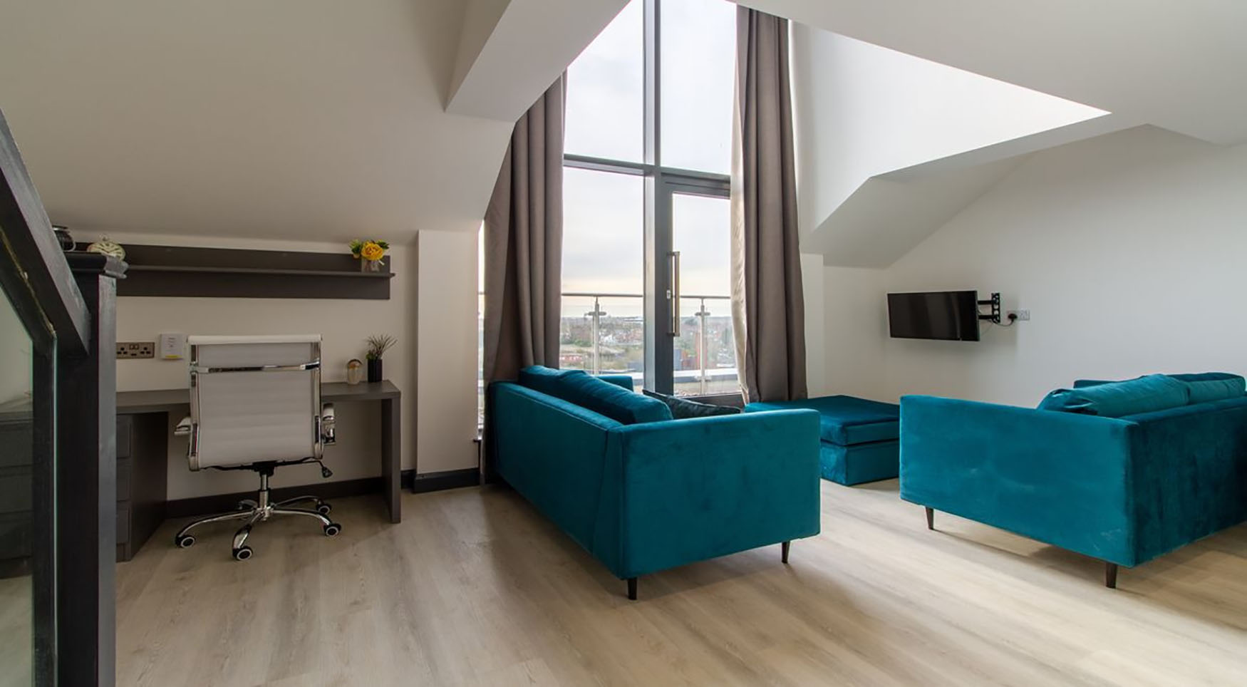 Sofas at The Residence Coventry, Centre, Newmarket - Citybase Apartments