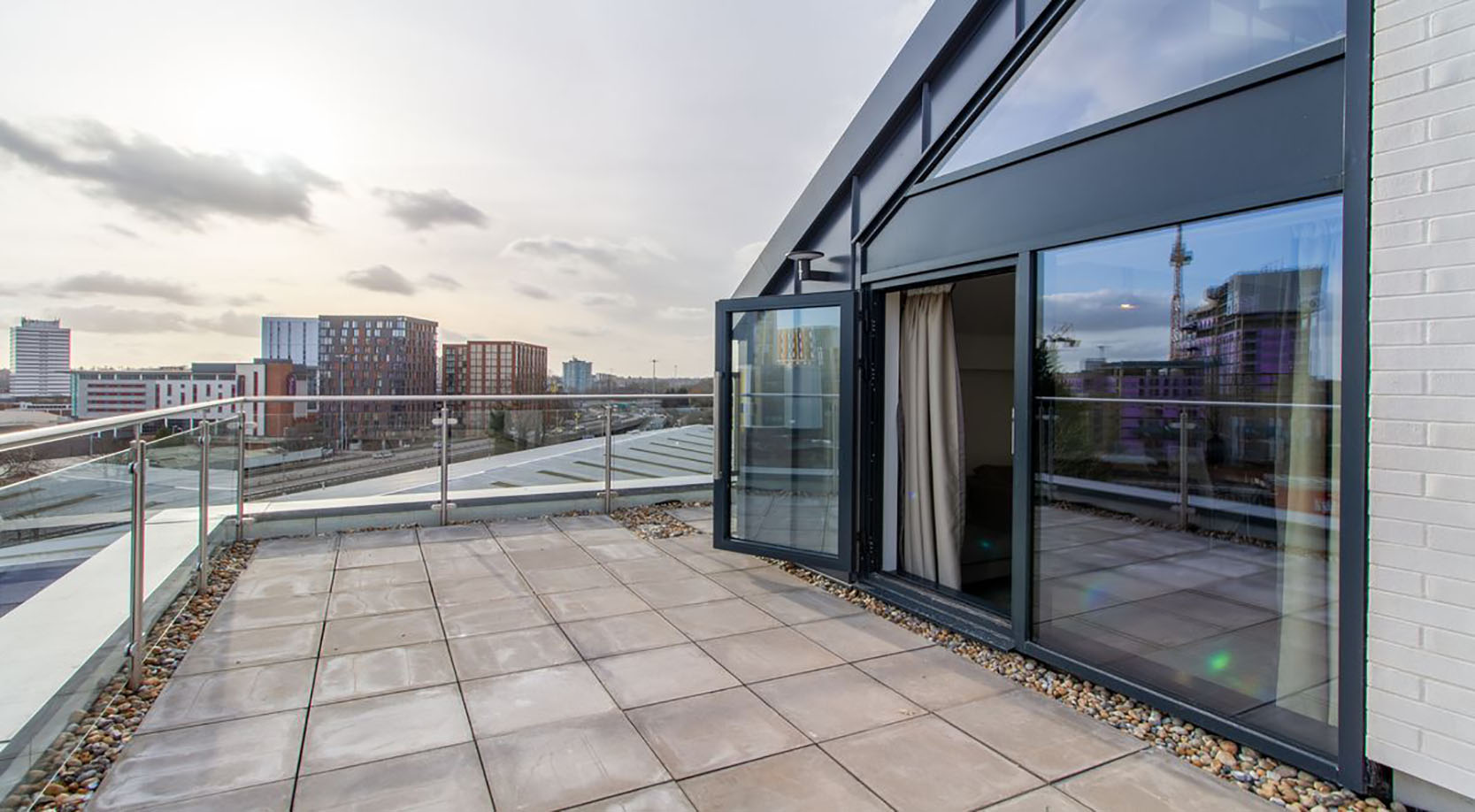 Terrace at The Residence Coventry, Centre, Newmarket - Citybase Apartments