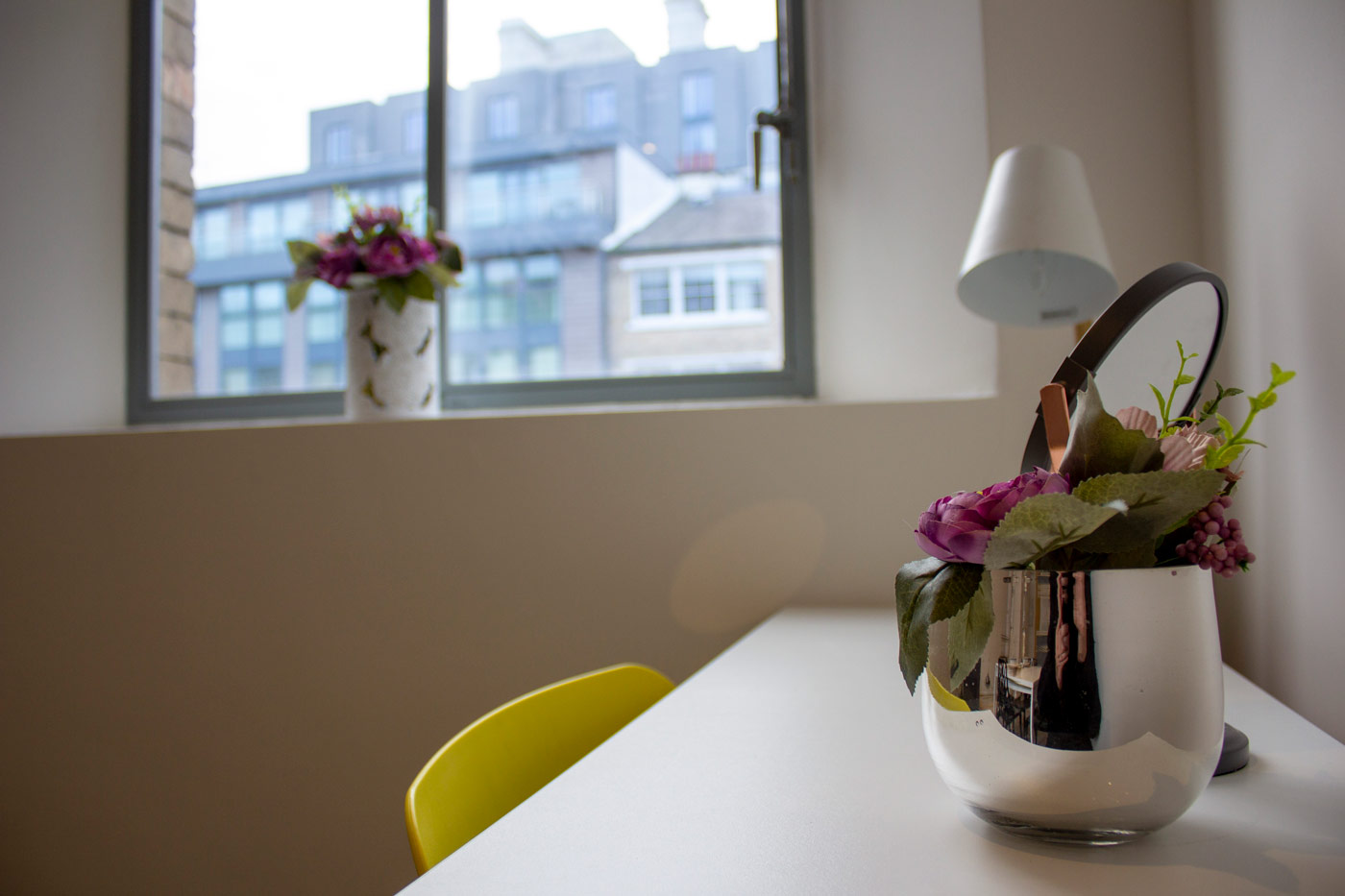 Work desk at Colonial Chambers, Ropewalks, Liverpool - Citybase Apartments