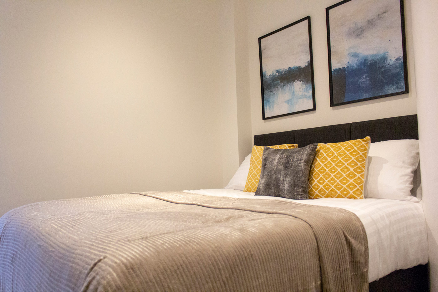 Bedroom at Colonial Chambers, Ropewalks, Liverpool - Citybase Apartments