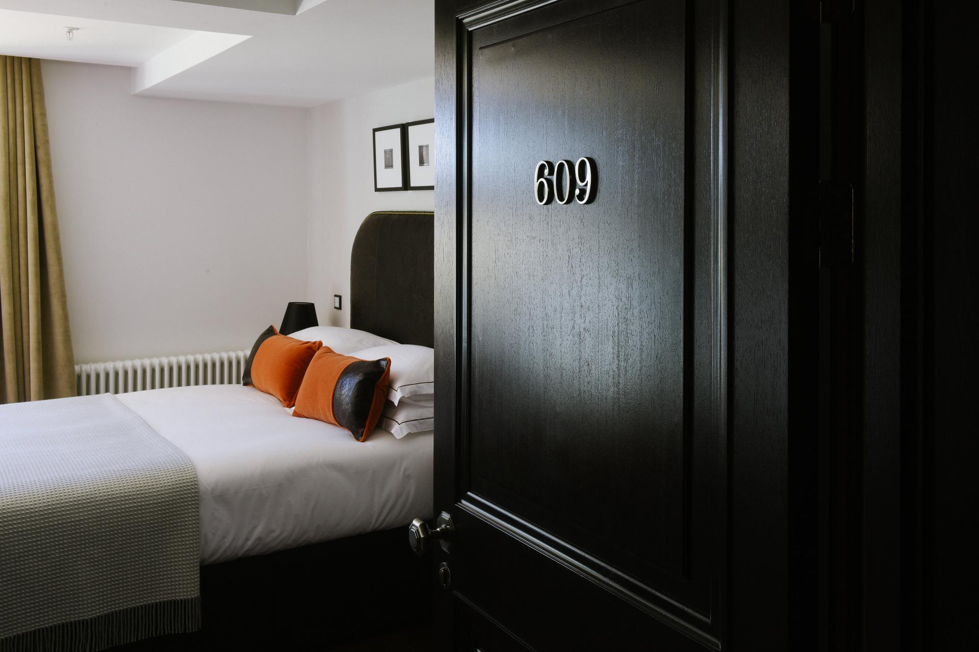 Bedroom at The Edinburgh Grand Apartments, Centre, Edinburgh - Citybase Apartments