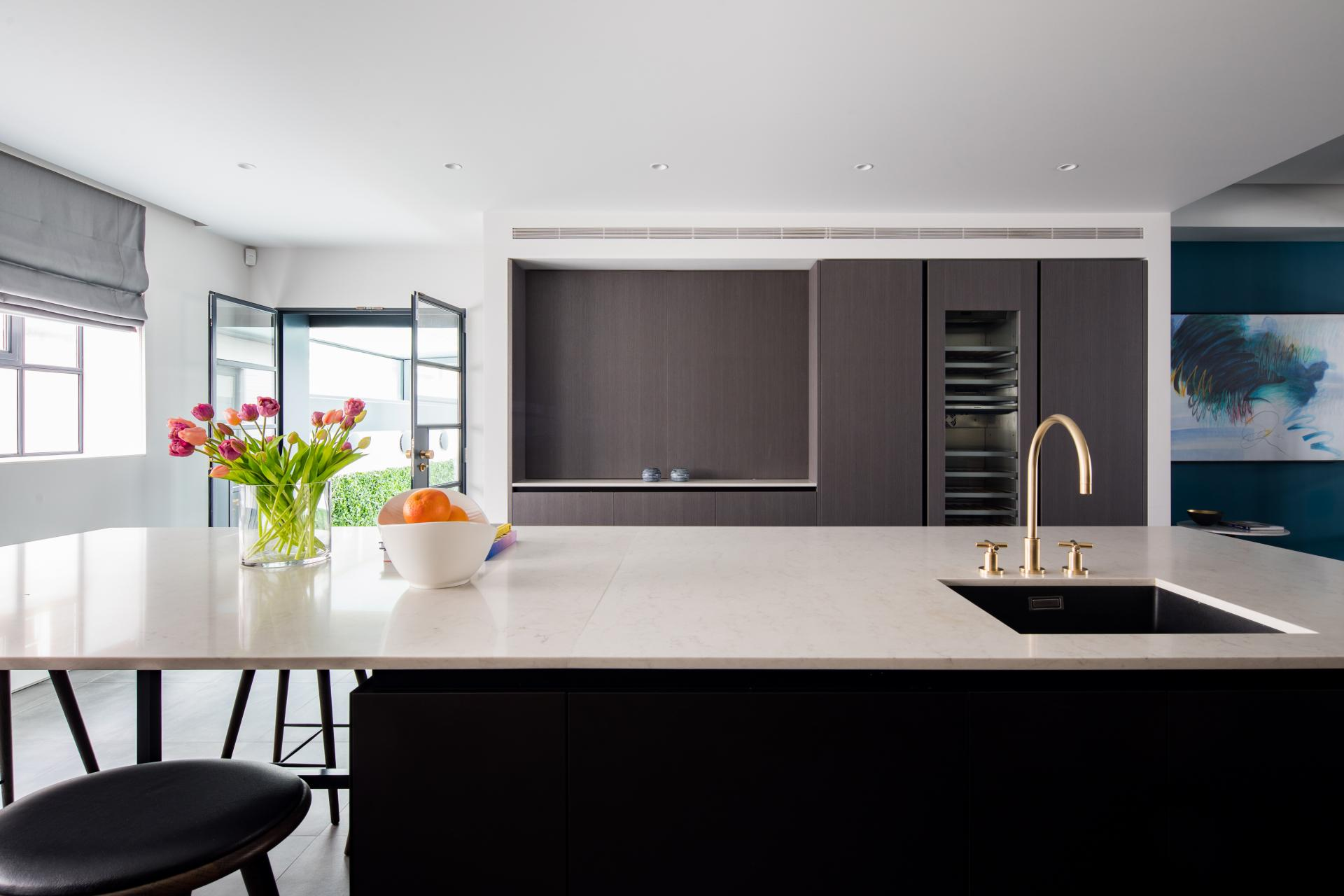 Kitchen at Royalty Mews, Carnaby, London - Citybase Apartments