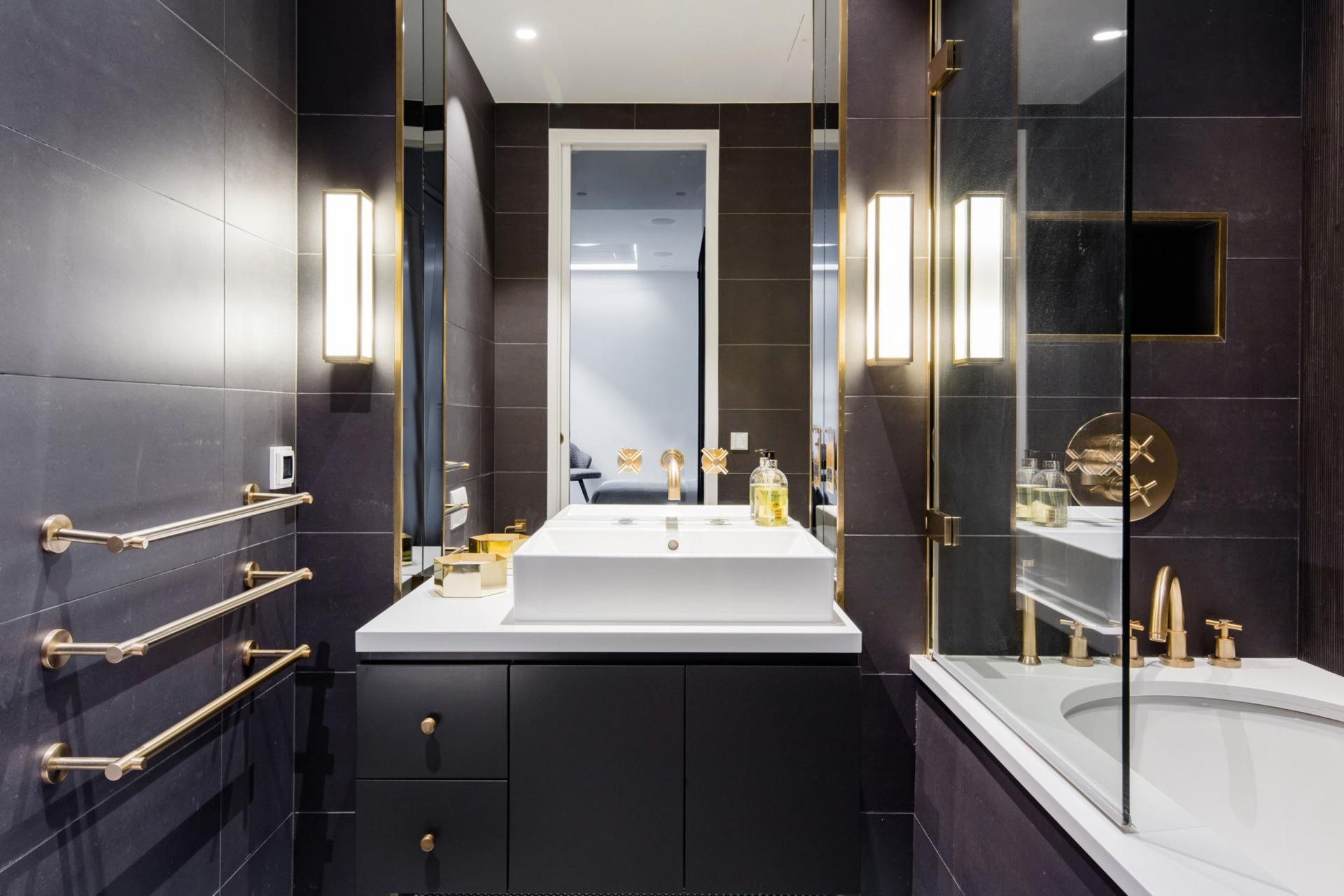 Sink at Royalty Mews, Carnaby, London - Citybase Apartments