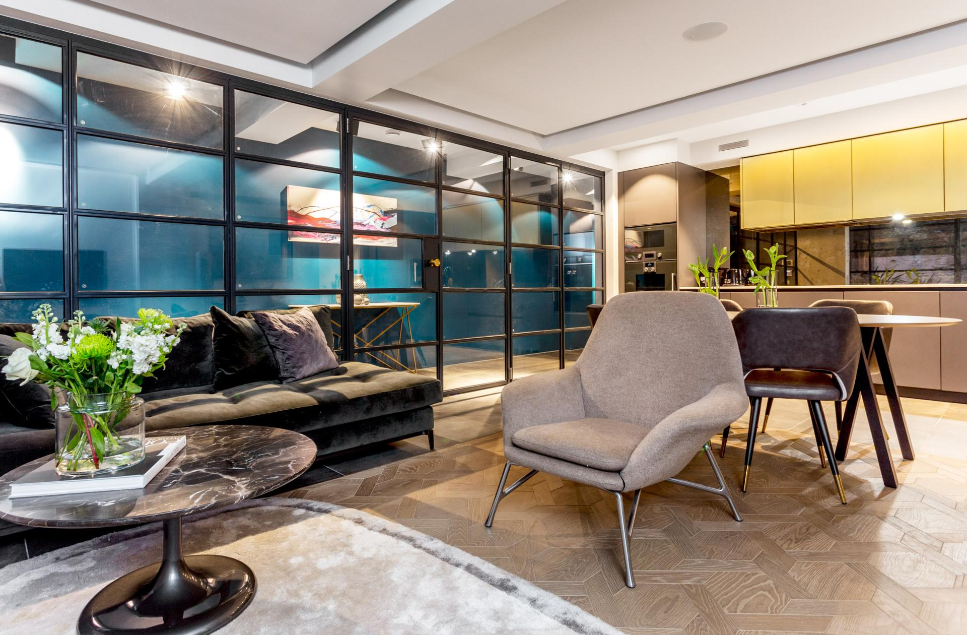 Open-plan at Royalty Mews, Carnaby, London - Citybase Apartments