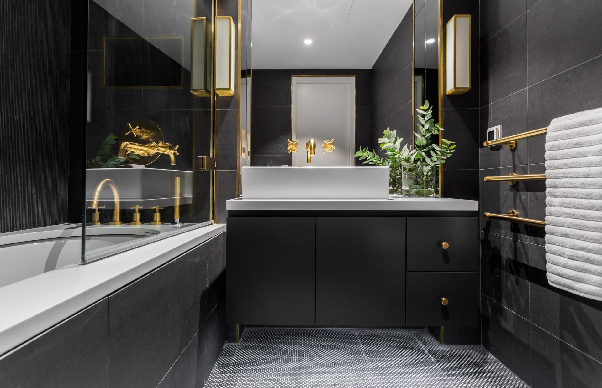 Bathroom at Royalty Mews, Carnaby, London - Citybase Apartments