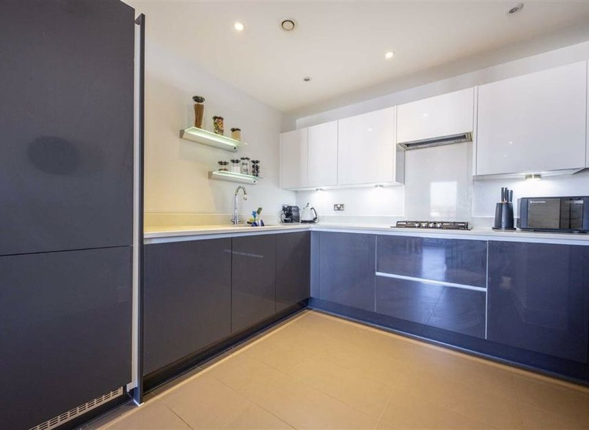Kitchen at Teddington Apartments, Teddington, London - Citybase Apartments
