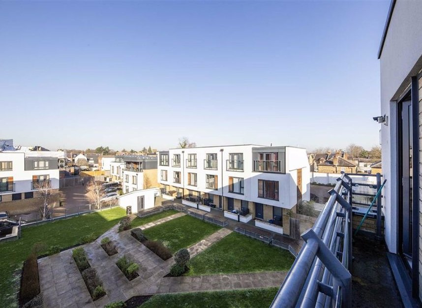 Balcony at Teddington Apartments, Teddington, London - Citybase Apartments