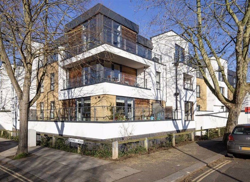 Exterior of Teddington Apartments, Teddington, London - Citybase Apartments