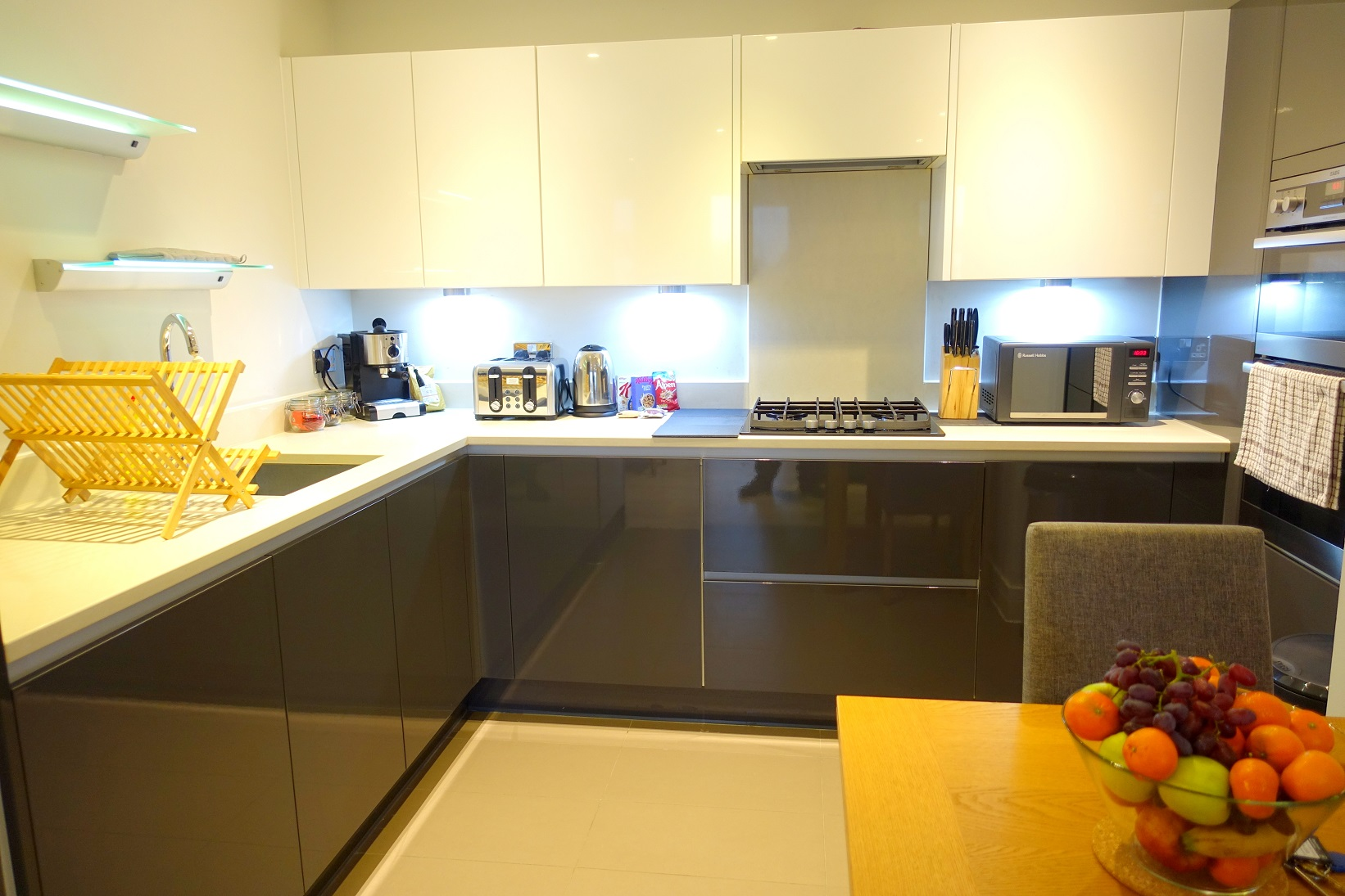 Kitchen diner at Teddington Apartments, Teddington, London - Citybase Apartments