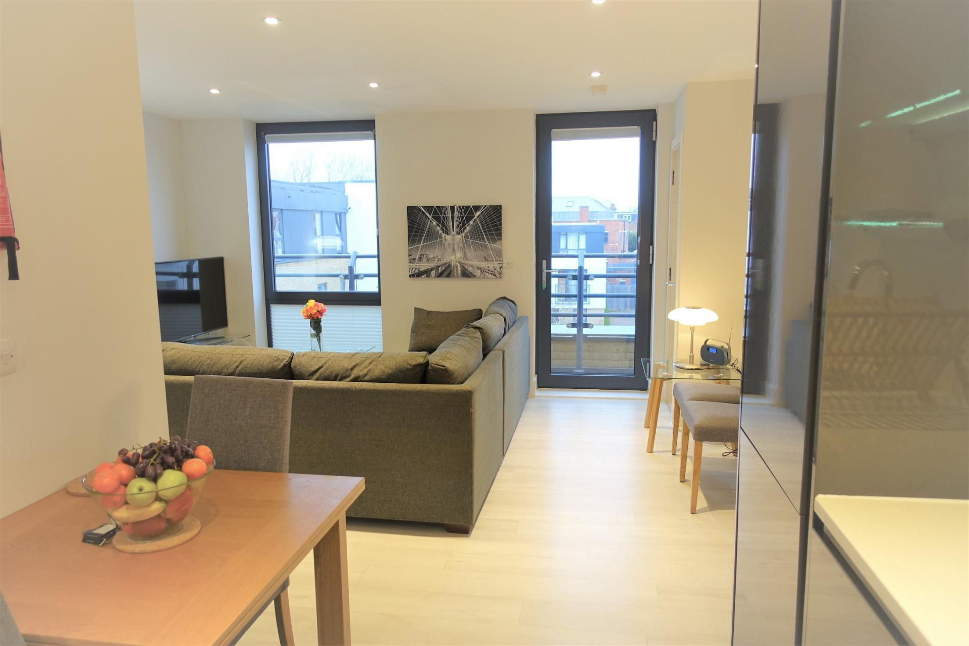 Dining area at Teddington Apartments, Teddington, London - Citybase Apartments