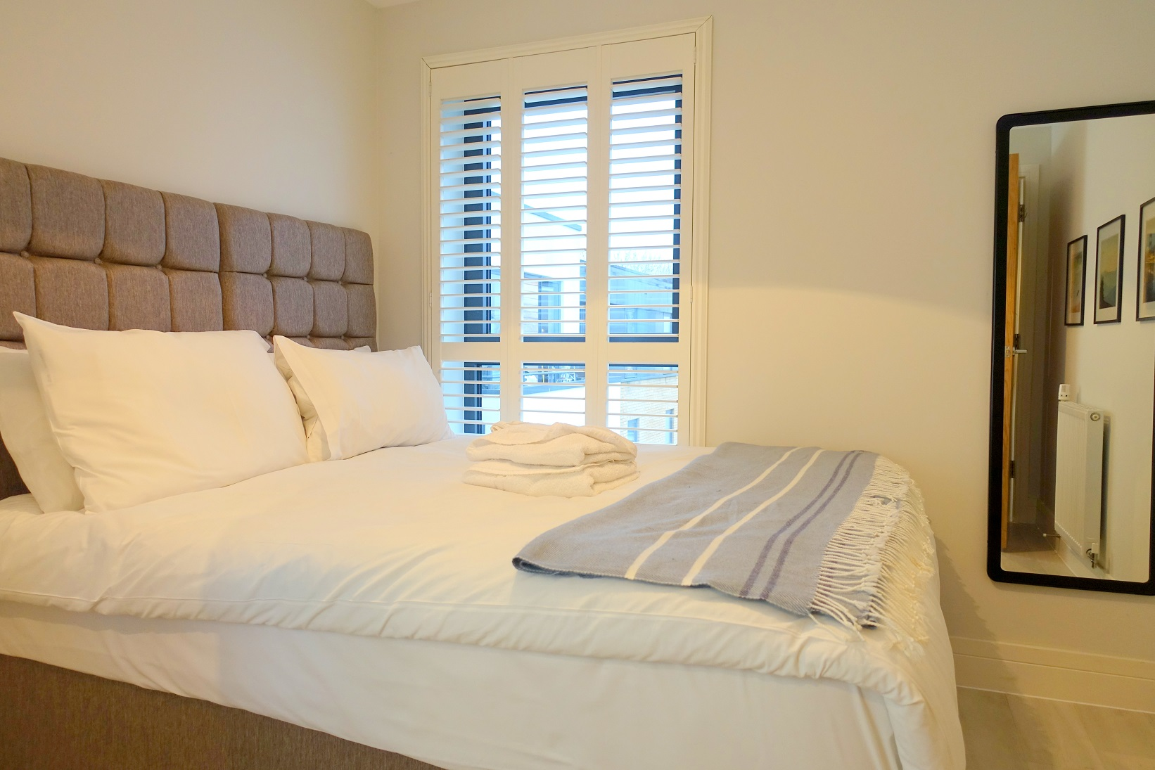 Bed at Teddington Apartments, Teddington, London - Citybase Apartments