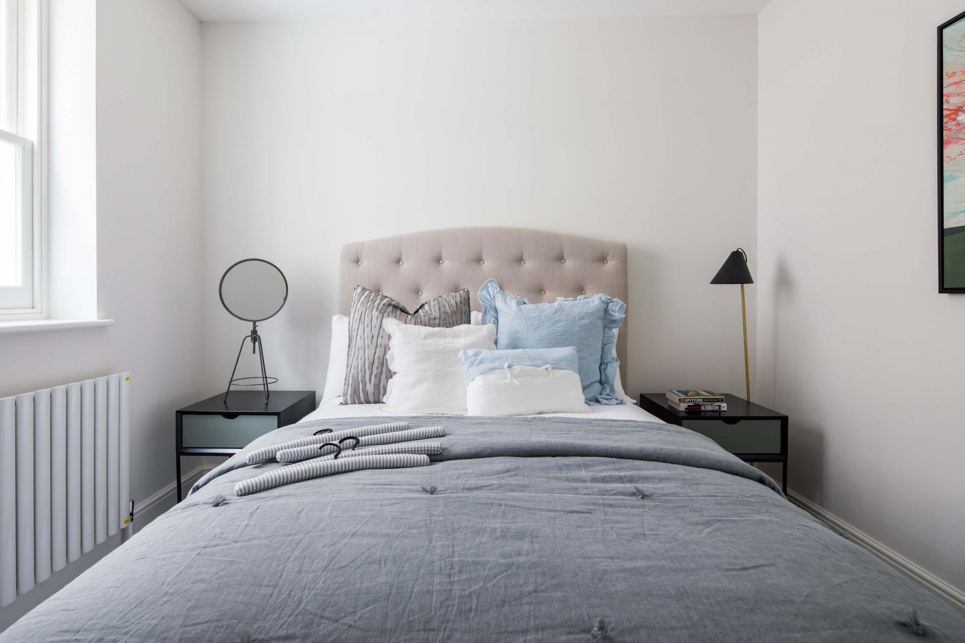 Bedroom at Rainsford Mews, Paddington, London - Citybase Apartments